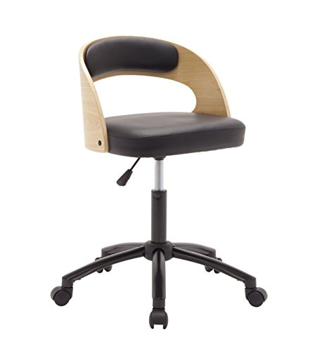 Calico Designs Black/Ashwood, Student Art Chair 18700