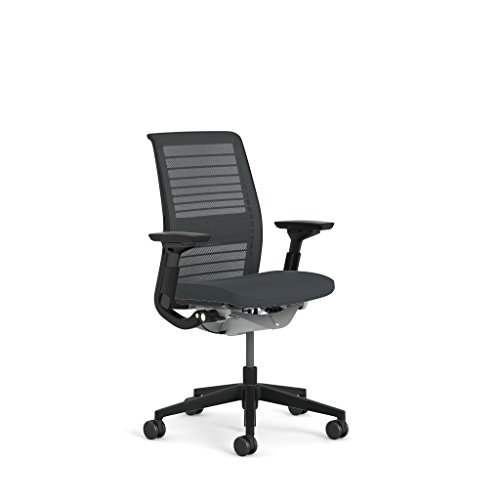 (Steelcase Think 3D Mesh Fabric Chair, Licorice)