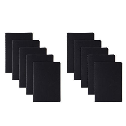 RIANCY Black Cover Notebook Travel Journal Blank Paper Daily Diary Notebook Sketch A5 Notebook 210 x 140 mm 40 Sheets/Pack (Blank, (Happy Halloween Cover Page)