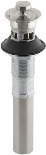 KOHLER K-7127-A-BN Lavatory Drain, Vibrant Brushed Nickel by Kohler