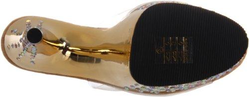 Chrome 701 Con Stardust Donna Clr Pleaser Da Sandali Tacco gold aqzxwP