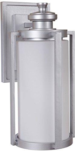 Craftmade Z7614-CM Remi Outdoor Wall Mount Sconce Lighting, 1-Light, 60 Watts, Chromite (8