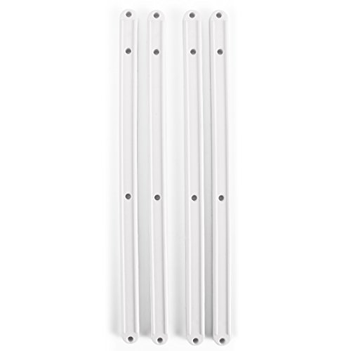 Surepromise Plastic Draw Drawer Runners Kitchen Bedroom Cabinet Guide Rail Rails