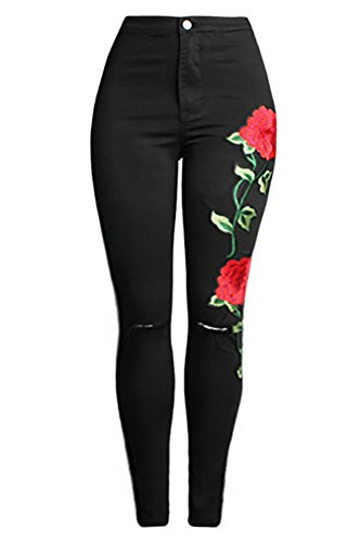 embroidery pants - 7