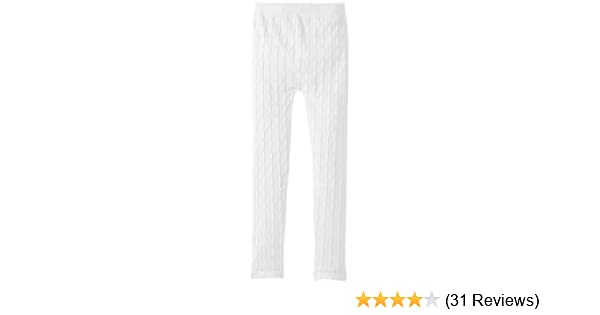 EachWell Kids Girls Fall Winter Cotton Stretch Cable Knit Leggings Pants