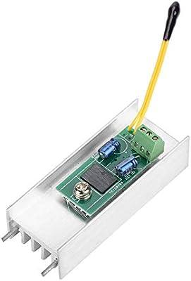 Controlador de velocidad, 12V 1A Ventilador Control automático de ...