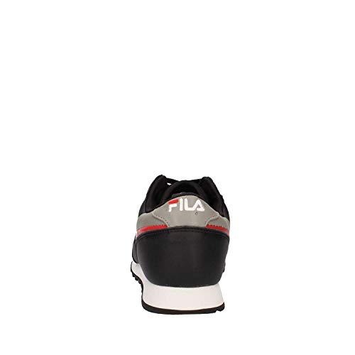 Orbit Grey Jogger Red Black Fila Low BqpdBP