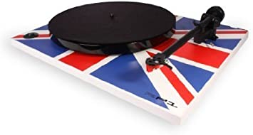 Rega RP1 Turntable Union Jack Edition with Performance Pack by Rega: Amazon.es: Electrónica