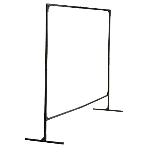 Wilson Stur-D-Screen Frame (36338), 6 x 8 feet, Single Panel, T Legs, Black, for Welding Curtains, 1 / Order