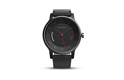 Garmin v%C3%ADvomove Classic Black Leather