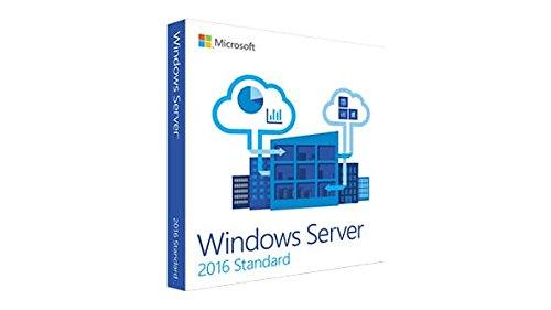 Microsoft Windows Server 2016 Standard 64-bit - Box Pack - 5 CAL
