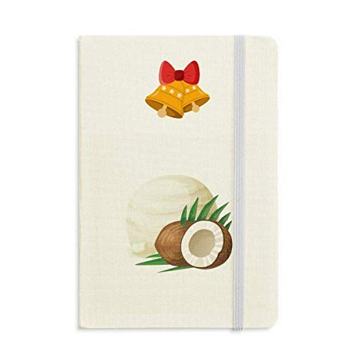 - Leaves Coconut Ice Cream Popsicles Notebook Journal Christmas Jingling Bell