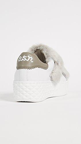Aske Kvinders Djin Platform Sneakers Hvid / Flanelle 0rjqQHc