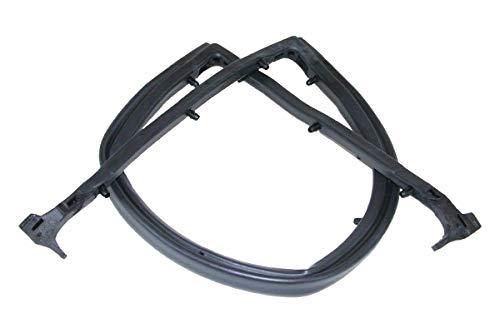 (Make Auto Parts Manufacturing Rear Black Tailgate Seal Rubber for Jeep CJ7 1984-1986 - CH1930100 )