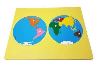 Amazing Child Montessori Small World Board Puzzle 14 1/2