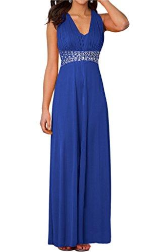 Ausschnitt Damen Abendkleid Festkleid Ivydressing Elegant V Rueckfrei Promkleid Gelb Steine CtZFBqwR