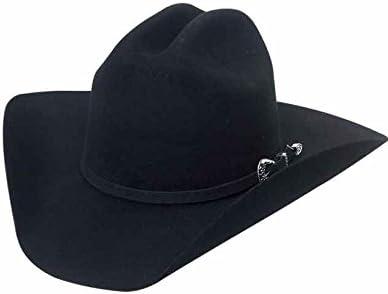 El General Mens /& Womens Western Cowboy Style 50X Rabbit Felt Texana Hat