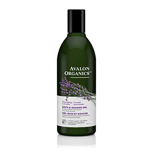 - Avalon Organics Nourishing Lavender Bath & Shower Gel, 12 oz.