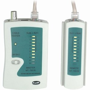 4XEM Cable Tester For UTP/STP RJ45,RJ11/RJ12 and BNC by 4XEM (Image #1)