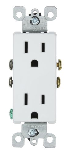 Leviton 5325 W Receptacle Residential Grounding