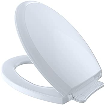 Toto Ss204 01 Contemporary Softclose Oval Toilet Seat