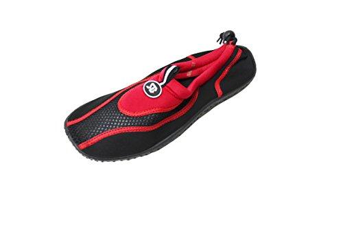 Scarpe Da Donna Acqua Alla Caviglia Aqua Calzini Piscina Per Lo Snorkeling Spiaggia Esercizio Calzature Rosso-2907