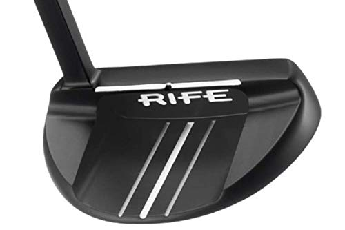 Guerin Rife Aussie Black Mallet Putter Steel Right Handed 34 in