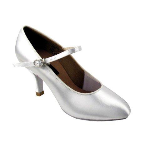 Damene Standard / Glatt-konkurransedanser Ballroom Sko, Cd5024m Kjøtt Satin