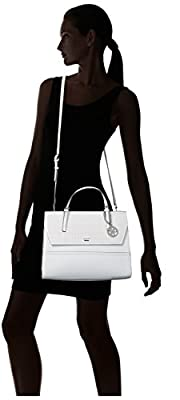 GUESS Huntley Top Handle-White
