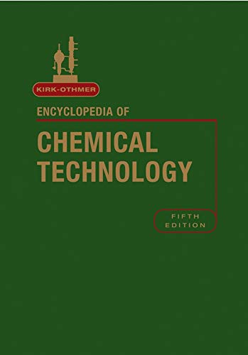 Download Encyclopedia of Chemical Technology. Volumes 1-26 with index volume (Kirk-Othmer Encyclopedia of Chemical Technology) pdf epub