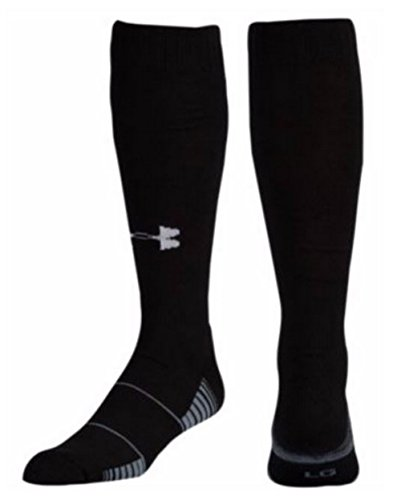 Under Armour Over the Calf Team Socks Black Size Large