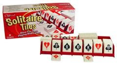 Official Solitaire Tiles Game by Board Games - Assorted Winning Moves