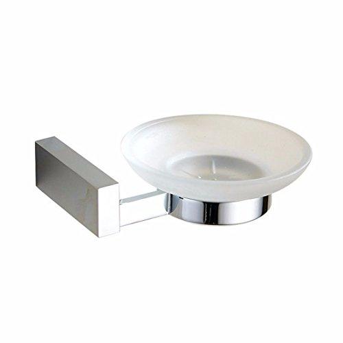 LHbox Tap Copper Silver Bathroom Accessories Towel Set Lever Double Coat Hook, Soap Dish