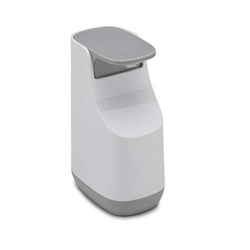 Joseph Joseph 70512 Slim Compact Soap Dispenser with Non-Drip Nozzle, Gray