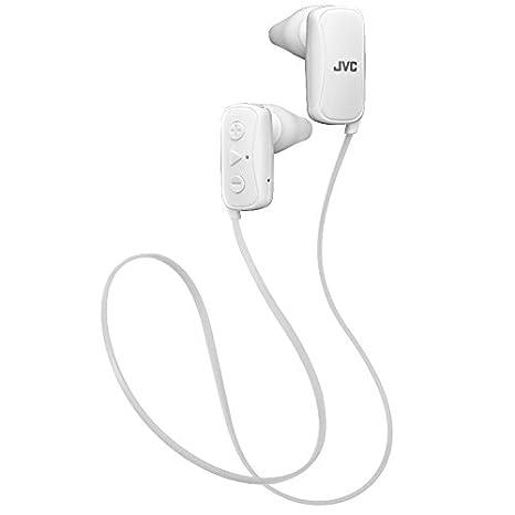 JVC HA-F250BT-WE - Auriculares In-Ear (Ajuste de la Boquilla, tecnología Bluetooth, Control Remoto de 3 Botones y micrófono) Blanco: Amazon.es: Electrónica