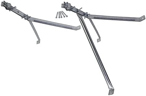 24 Stand Off Wall Mast Mount – Deluxe Y Style Extra 3rd Leg Support EZ 30-24