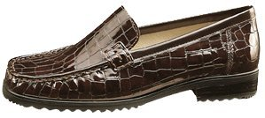 ara Phoenix Golden Brown Croco 60136 82 G Size 5.5 US