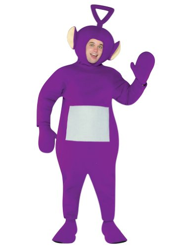 Morris Costumes GC4223 Teletubbies Tinky Winky Adult Costume