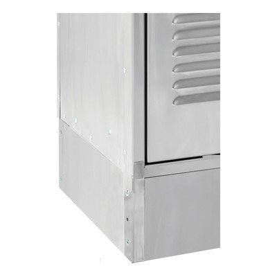 Closed Side Base for Stainless Steel - Hallowell Side Base Locker