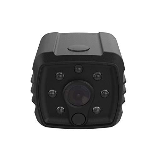 Camera Night Vision(1080p),Wabaodan 1080P Wireless WiFi Mini Camera IR Night Vision Video Recorder Camcorder,Home Security with 2-Way Audio, 3D Panorama, Cloud Service (Black) ()