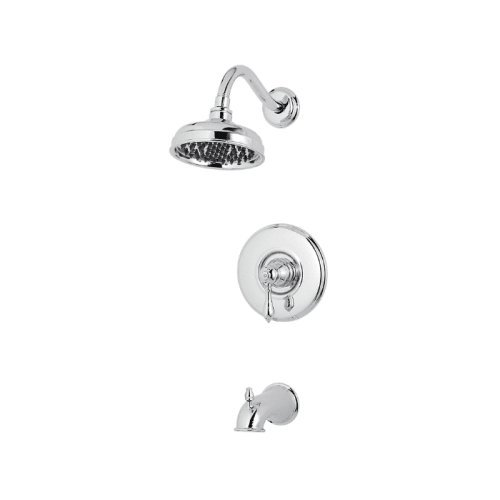 Marielle Collection Single Handle - Pfister G89-8MBC Marielle 1-Handle Tub & Shower Trim in Polished Chrome, 2.0gpm