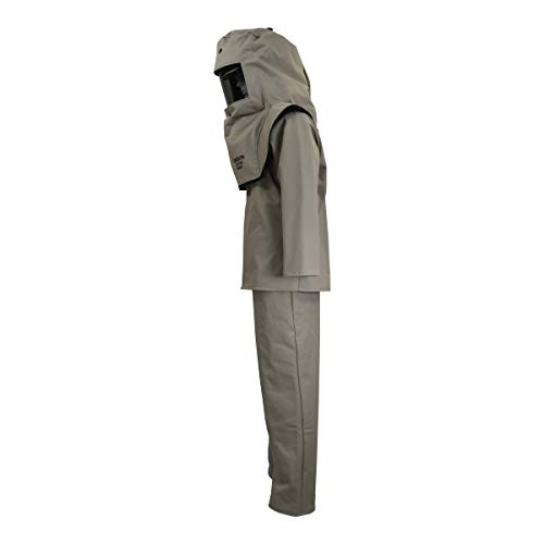 CAT40 Series Arc Flash Hood, Coat, Bib Suit Set by Oberon Company (Image #3)