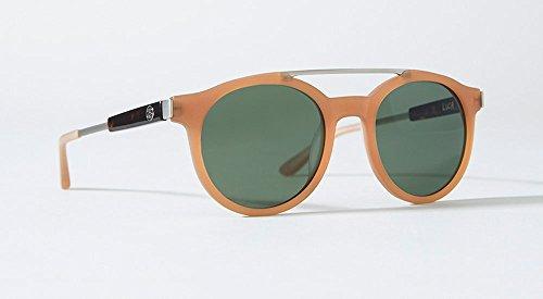 Stussy Luca Sunglasses Matte Honey/Green Mineral ()