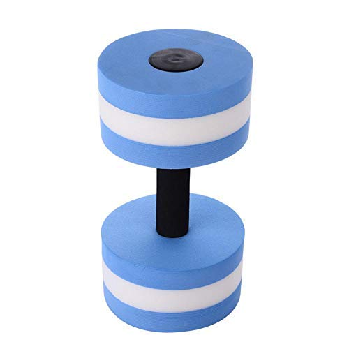 Aquatic Exercise Dumbells 1PC Foam Dumbbells Water Aerobics Fitness with Strong Buoyance for Aerobic Exercise Exercises Aqua Dumbbell Set for Man Woman