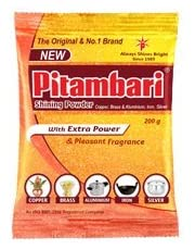 Pitambari (Extra Power) Shines Copper and Brass 200 Gram