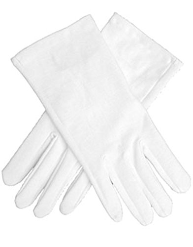 White Gloves (Child Short White Gloves)
