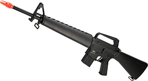 Evike JG M16 Vietnam Full Size Airsoft AEG Rifle with Lipo Ready Gearbox - (Package: ()
