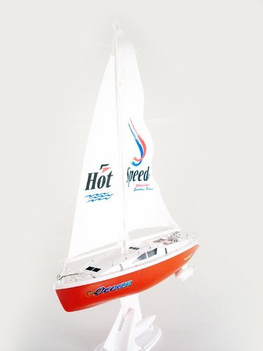 Electric Rc Sailboat - remote control 15'' Electric sail boat sailboat Boat RTR