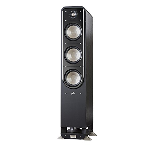 - Polk Signature Series S60 Floor Standing Speaker - American HiFi Surround Sound for TV, Music, and Movies | Stylish Looks, Big Sound | Bi-wire and Bi-amp | Detachable Magnetic Grille included