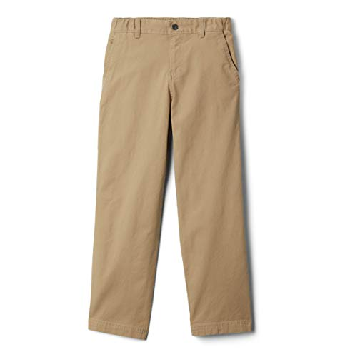 Columbia Boys' Big Flex ROC Pant, British Tan, Large (Columbia Pants Boys)